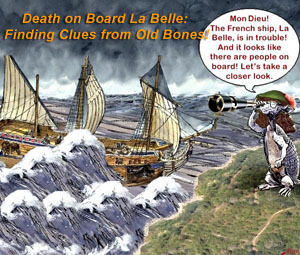 Death On Board La Belle